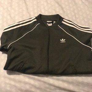Green superstar track jacket